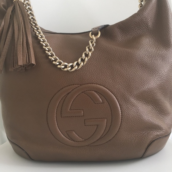 Gucci Handbags - Gucci Soho Hobo, Like New Condition